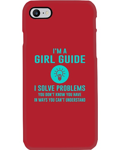 I'm a Girl Guide I solve problems
