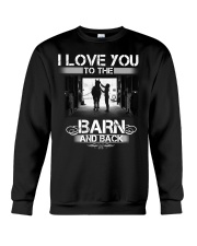 I LOVE U TO THE BARN AND BACK Crewneck Sweatshirt thumbnail