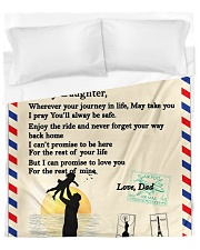 TO MY DAUGHTER Duvet Cover tile
