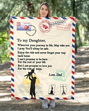 """TO MY DAUGHTER Quilt 40""""x50"""" - Baby aos-quilt-40x50-lifestyle-front-05"""