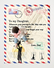 """TO MY DAUGHTER Quilt 40""""x50"""" - Baby aos-quilt-40x50-lifestyle-front-06"""