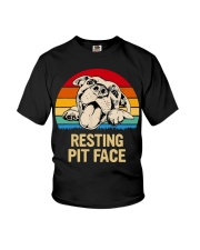 RESTING PIT FACE Youth T-Shirt thumbnail
