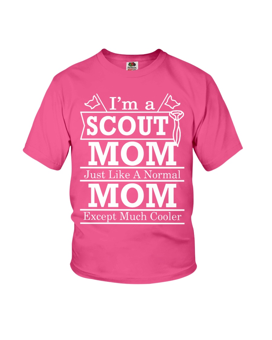 I'm a Scout Mom  Youth T-Shirt