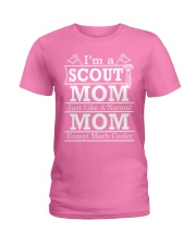 I'm a Scout Mom  Ladies T-Shirt front