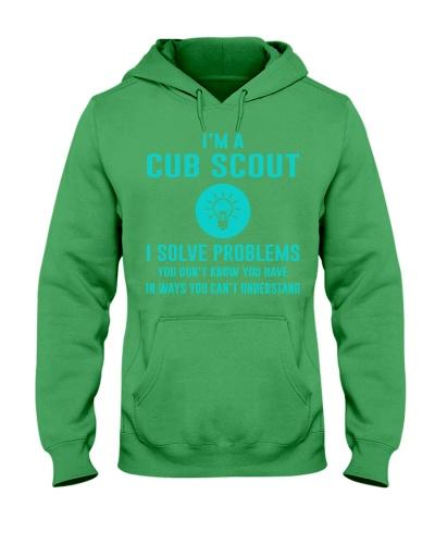 I'm a Cub Scout I solve problems