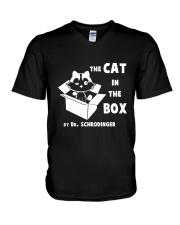 THE CAT IN THE BOX V-Neck T-Shirt thumbnail