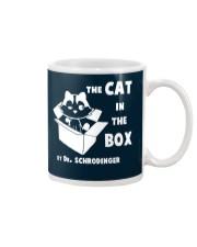 THE CAT IN THE BOX Mug thumbnail