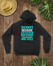 I'm A Scout Hooded Sweatshirt lifestyle-unisex-hoodie-front-7