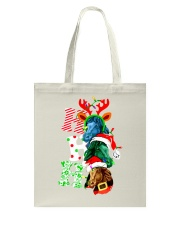 HORSE CHRISTMAS Tote Bag tile