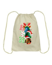 HORSE CHRISTMAS Drawstring Bag tile