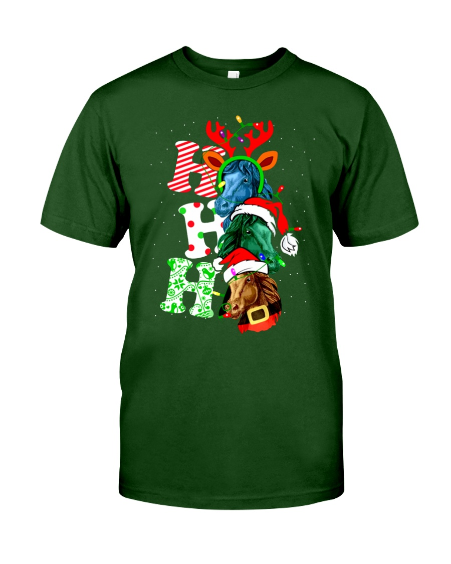HORSE CHRISTMAS Classic T-Shirt
