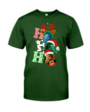 HORSE CHRISTMAS Classic T-Shirt front