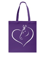 HEART HORSE Tote Bag tile