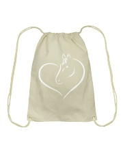 HEART HORSE Drawstring Bag thumbnail