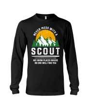 Never Mess With A Scout Long Sleeve Tee thumbnail