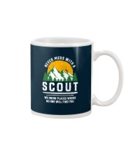 Never Mess With A Scout Mug thumbnail