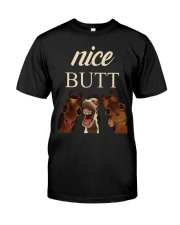 NICE BUTT Classic T-Shirt front