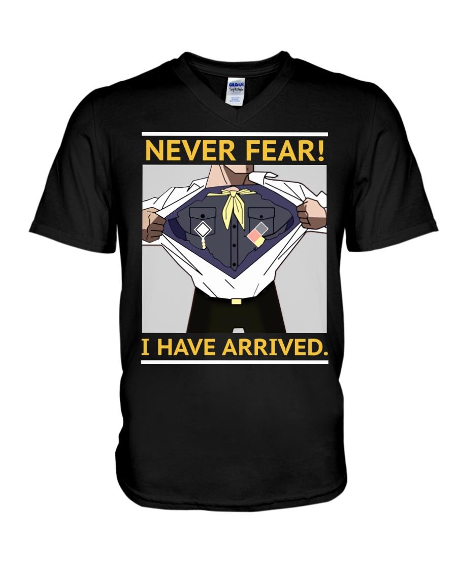 Never Fear V-Neck T-Shirt