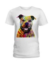 Pit Bull Bewar Ladies T-Shirt thumbnail