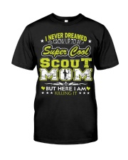 I'm a Super Cool Scout Mom Classic T-Shirt thumbnail