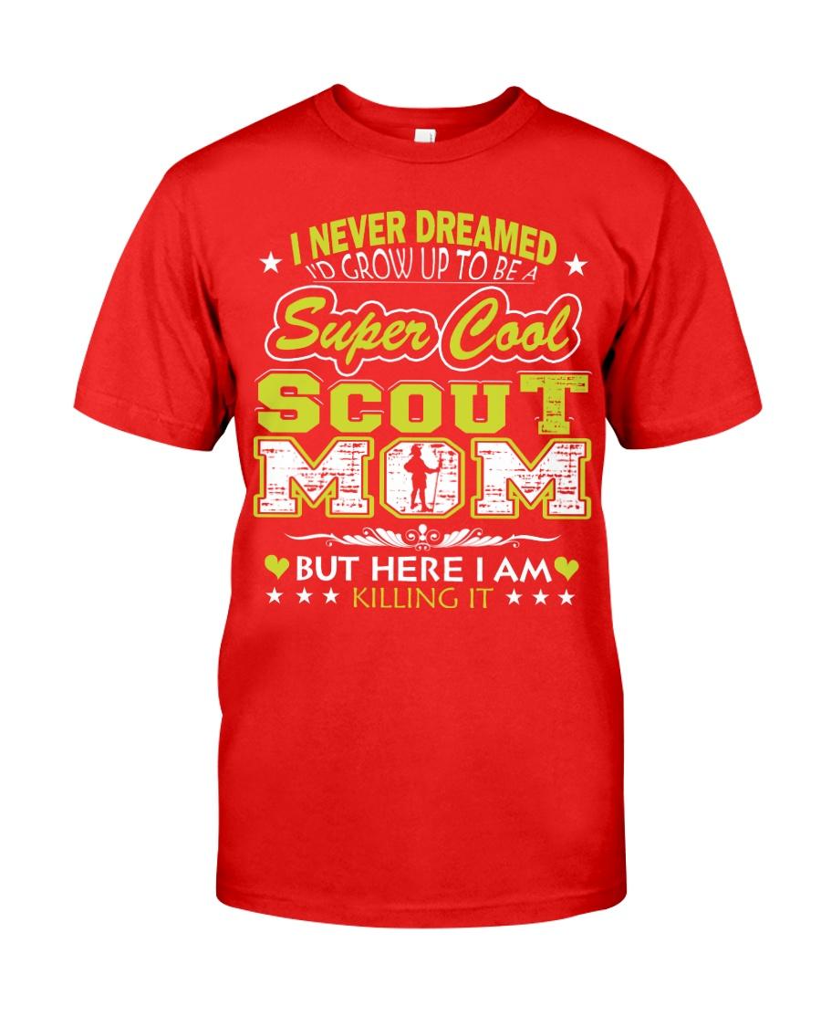 I'm a Super Cool Scout Mom Classic T-Shirt