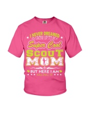 I'm a Super Cool Scout Mom Youth T-Shirt front
