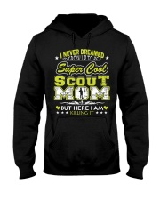 I'm a Super Cool Scout Mom Hooded Sweatshirt thumbnail