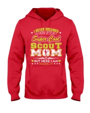 I'm a Super Cool Scout Mom Hooded Sweatshirt front