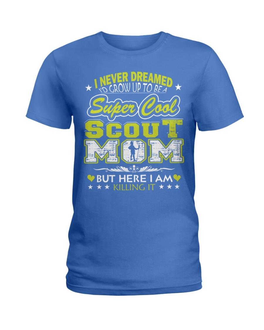 I'm a Super Cool Scout Mom Ladies T-Shirt