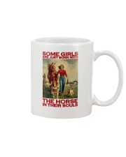 THE HORSE IN THEIR SOULS Mug tile