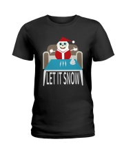 LET IT SNOW Ladies T-Shirt thumbnail