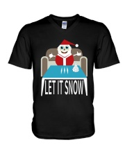LET IT SNOW V-Neck T-Shirt thumbnail