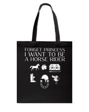 I want to be a horse rider Tote Bag thumbnail