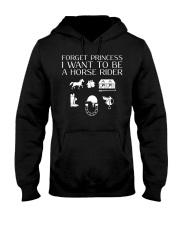 I want to be a horse rider Hooded Sweatshirt thumbnail