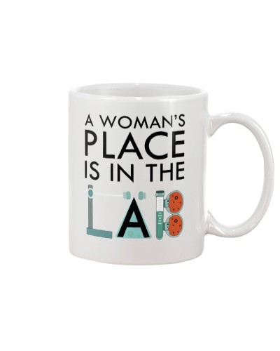A woman's place is in the lab