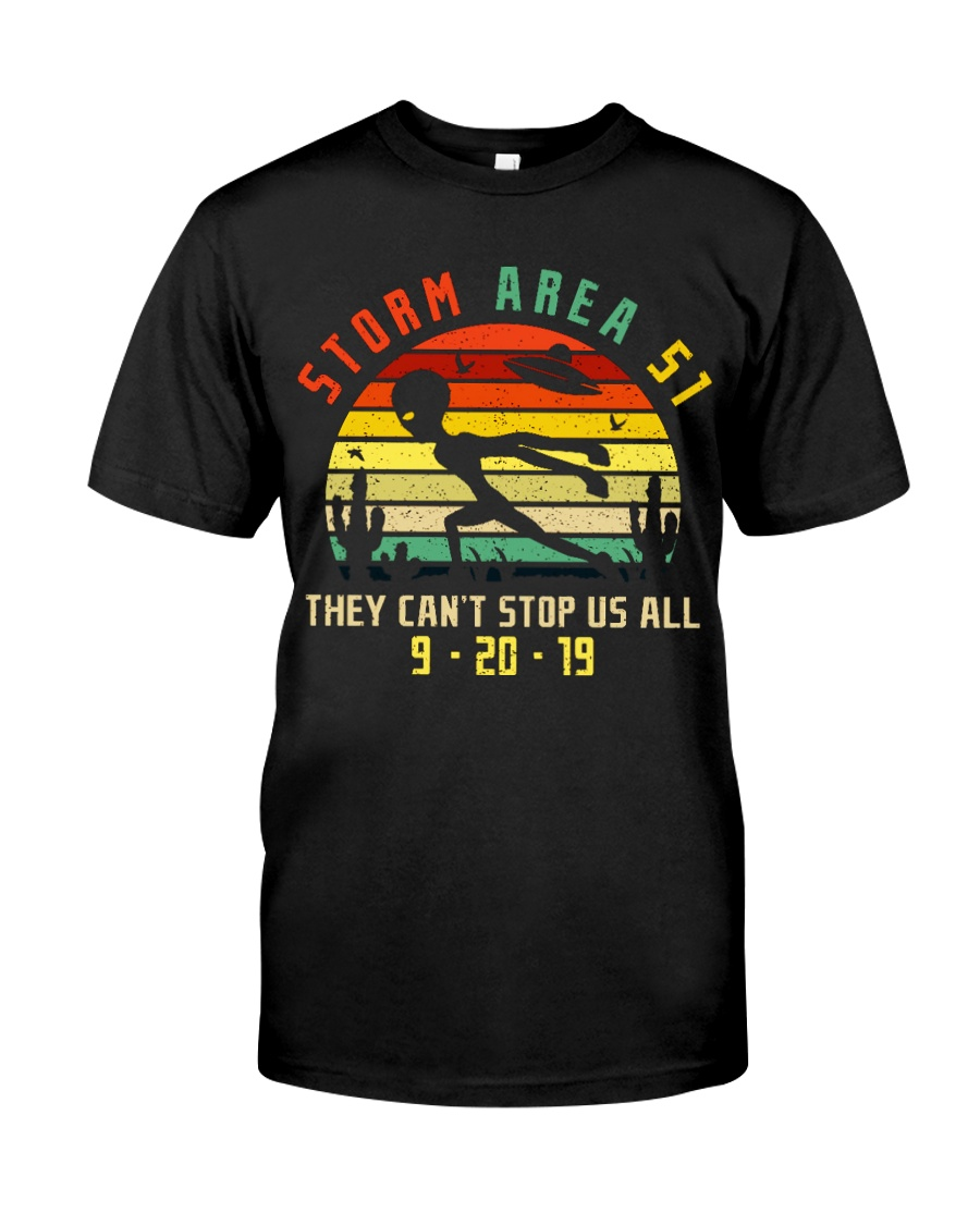 THEY CAN'T STOP US ALL Classic T-Shirt