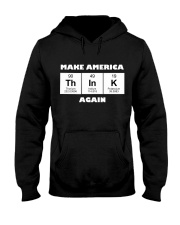 MAKE AMERICA THINK AGAIN Hooded Sweatshirt thumbnail