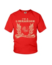 I'm A Librarian Youth T-Shirt front