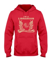 I'm A Librarian Hooded Sweatshirt front