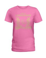 I'm A Librarian Ladies T-Shirt front