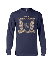 I'm A Librarian Long Sleeve Tee front