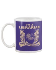 I'm A Librarian Mug back