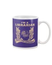 I'm A Librarian Mug front