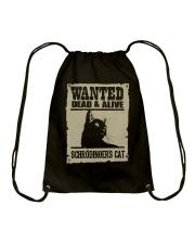 Dead and Alive Drawstring Bag thumbnail