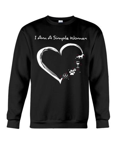 A SIMPLE WOMAN - LOVE HORSE