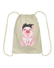 Love Pig Drawstring Bag thumbnail