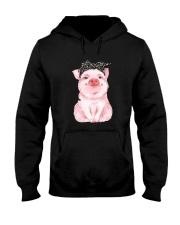 Love Pig Hooded Sweatshirt thumbnail