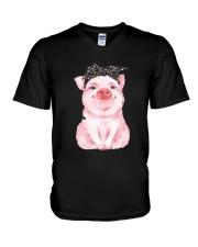 Love Pig V-Neck T-Shirt thumbnail