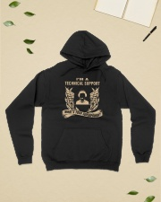 I'm a Technical Support Hooded Sweatshirt lifestyle-unisex-hoodie-front-6