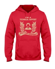 I'm a Technical Support Hooded Sweatshirt front